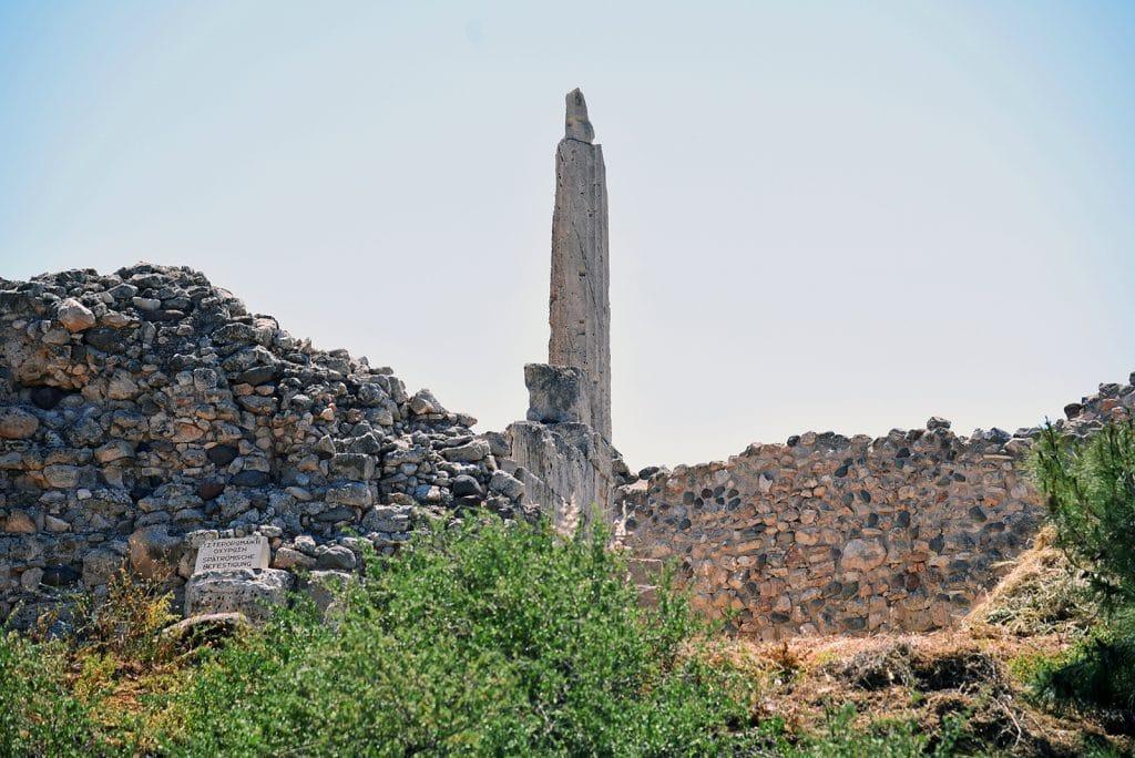 Αρχαιολογικός Χώρος Κολώνας Αίγινα, Archaeological Sight of Kolona Aegina, Κολώνα Αίγινα