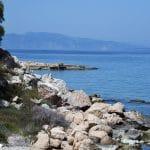Παραλία Καβουρόπετρα Αίγινα, Kavouropetra Beach Aegina