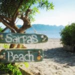 Sarpas Beach Bar Aegina, Παραλία Σαρπά Αίγινα