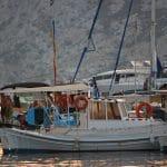 Εκδρομή στο Νησάκι της Μονής από την Πέρδικα της Αίγινας, Excursion to Moni Islet opposite Perdika Aegina