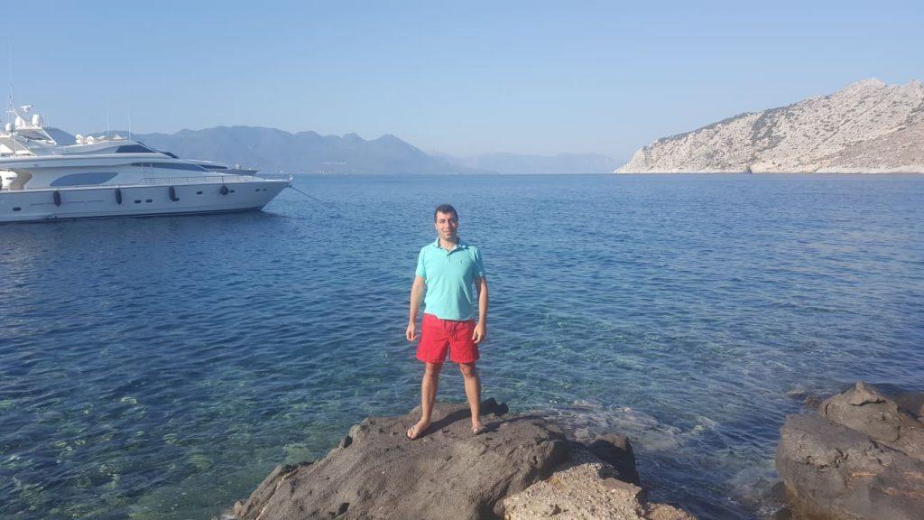 Lebanon loves Aegina Island Greece